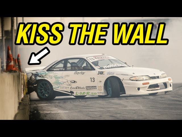 KISS THE WALL COMPILATION | Drift Wall Taps
