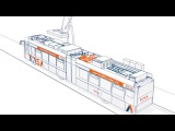 TOSA - система от компании ABB, позволяющая заряжать аккумуляторы транспортных средств с высокой скоростью