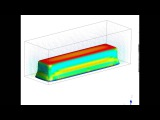 Melting of a tin chunk in ANSYS Fluent
