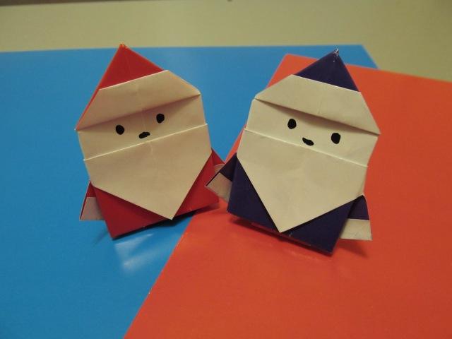 ДЕД МОРОЗ - Легкое Оригами из Бумаги для Детей. Видео