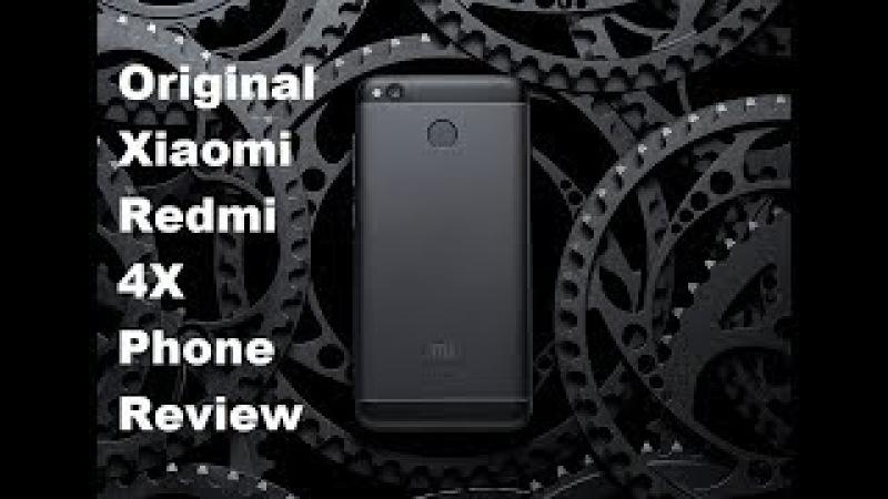 Original Xiaomi Redmi 4X Mobile Phone Review Snapdragon 435 Octa Core CPU 2GB RAM 16GB ROM 13MP смотреть онлайн без регистрации