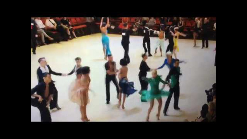 Mae Lozada and Kristian Sese (Semi-final round) Blackpool Dance Festival