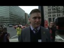 White nationalist Richard Spencer punched in the face camera while doing interview