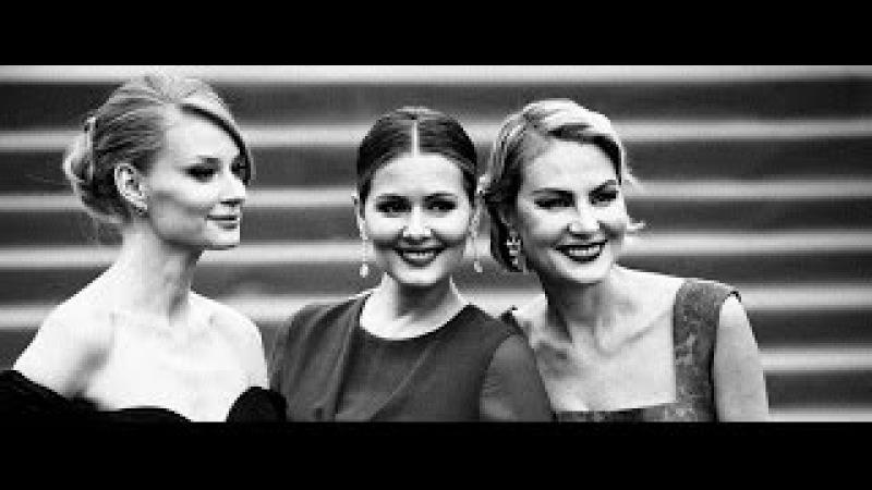 Светлана Ходченкова, Анна Чиповская, Екатерина Вилкова на открытии ММКФ-2015