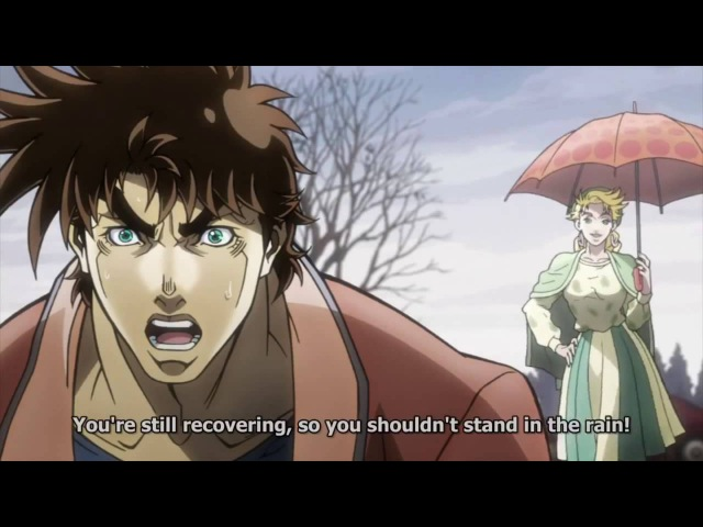 Joseph Joestar Visits His Own Funeral ( How He Survived)