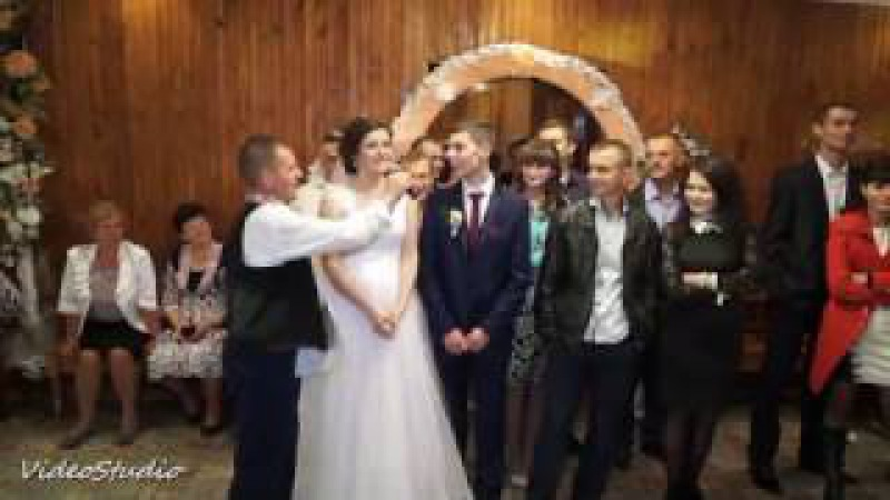 Весілля в самому розпалі забавний конкурс веселі та драйвові гості гарний нас