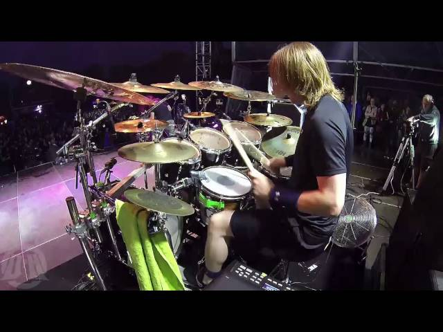 DYING FETUS@One Shot, One Kill-Trey Williams--live at Brutal Assault 2016 (Drum Cam)