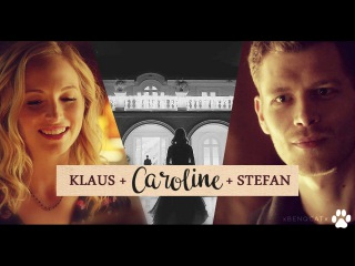 Klaus & Caroline & Stefan [Some People Don't Regret It] + 8x12