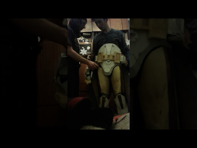 Undressing clone commander Bly armor/раздеваем клона коммандера