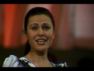 Диалог у новогодней елки – Валентина Толкунова и Леонид Серебренников (Песня 80) 1980 год