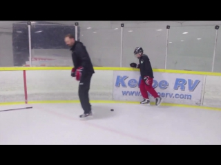 STRIDE LENGTHENING DRILL FOR HOCKEY PLAYERS