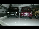 Mercedes-Benz G-Klasse(Gelandewagen) &amp Ford Mustang 1960th Die-Cast 143