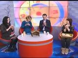 Заводчики карликовых африканских ежей Ольга Климович и Яна Ермольчик на СТВ