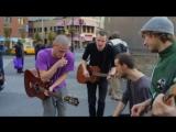 Brothers Moving - Minnie the Moocher (@ Union Square - NYC)  The Back of the Busk