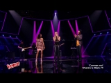 Shakira  Black M  Lucie - Comme moi@The Voice France,June 10, 2017