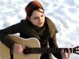 (Классная песня!)девушка классно поёт
