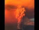 извержение вулкана. Чили.