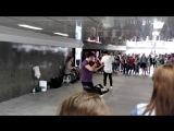 Яша Мулерман концерт в подземном переходе Арбата ) part 2