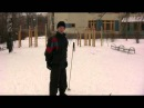 Передвижение на лыжах - Скользящий шаг