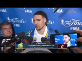 Klay Thompson Postgame Interview | Warriors vs Cavs Game 4 NBA Finals June 9, 2017