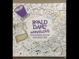 Roald Dahl's Marvellous Colouring-Book Adventure flip through
