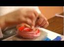«Ручная работа» яблоко в технике сухого валяния (05.02.2014)