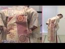 きものん着付け動画 『袋帯の結び方(二重太鼓結び)』