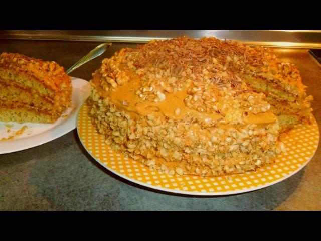 ИДЕАЛ вкусный торт с грецкими орехами рецепт от Inga Avak