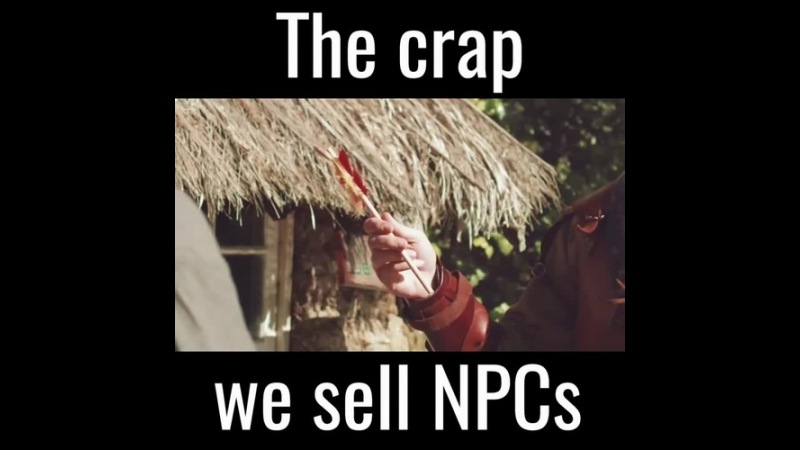 The Crap We Sell NPCs