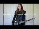I Hate Everything About You - Three Days Grace (Guitar Cover)