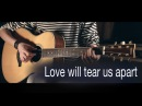 Joy Division - Love will tear us apart (fingerstyle guitar)