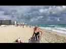 Январь 2017 года - Пляж Майами. Татьяна УКРАИНЕЦ