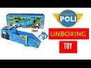 Robocar Poli  #Робокар Поли  Unboxing Toys Review  POLI RACING LAUNCHER