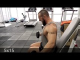 Тренировки  бородача (спина - дельты).Тренер фитнес- клуба