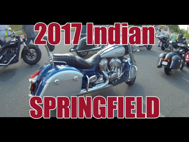 Обзор-Тест драйв: 2017 Indian Springfield | Индиан Спрингфилд