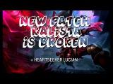 Gosu - NEW PATCH KALISTA IS BROKEN + Heartseeker Lucian Gameplay