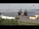 Рота РХБЗ за считаные минуты спрятала крейсер Петр Великий под дымовой завесой