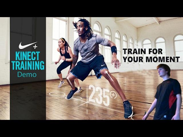Nike Kinect Training Demo