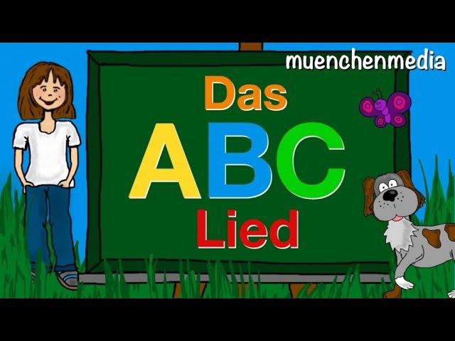 Das ABC Lied - Alphabet lernen - Kinderlieder deutsch | Kinderlieder zum Mitsingen - muenchenmedia