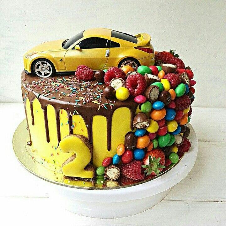 Торты без мастики: лучшие изображения (997) Торт