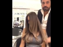 Hair color transformation by Mounir Salon