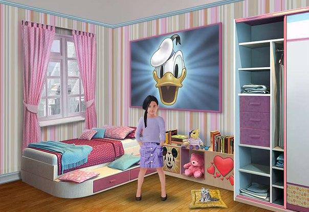 Алла Бородина: Вот такая девочка выросла у меня в игре. Присоединяйся! http://vk.com/app4651486