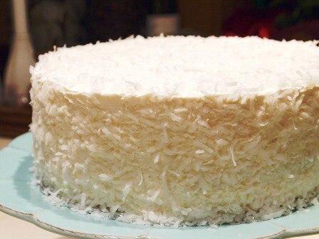кокосовое торт фото рецепт