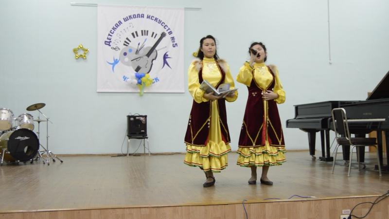 Ещё один номер сольного концерта Алины Байгильдиной.