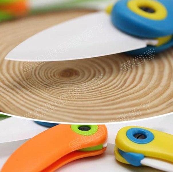 Маленький складкой керамический нож  https://ru.aliexpress.com/store/product/Colorful-Bird-Ceramic-Knife-Pocket-Ceramic-Folding-Knives-Kitchen-Fruit-Paring-Knife/1484032_32561588352.html?detailNewVersion=&categoryId=100003285