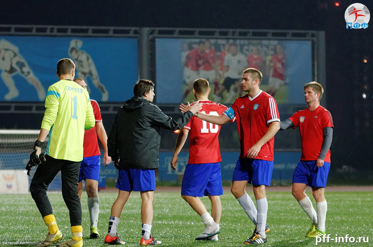 «Пересвет» идет на 3 месте после трети сезона в Первенстве 3 дивизиона