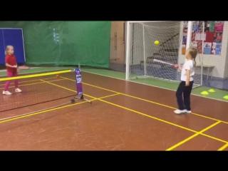 Кооперативный метод обучения детей 5-6 лет по программе TENNIS 2x5
