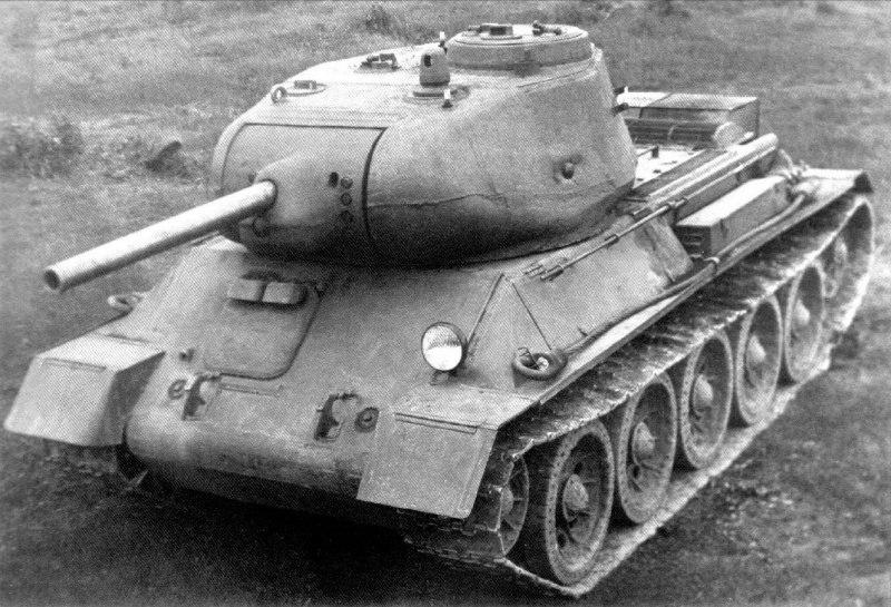 второй вариант Т-43