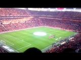 Турки поют свой гимн