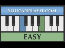Heart and Soul - How to Play Piano - Easy Tutorial